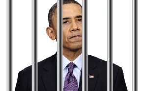 obamabehind bars