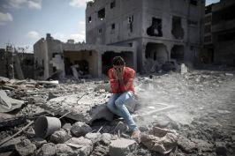 Destruction in Gaza Strip