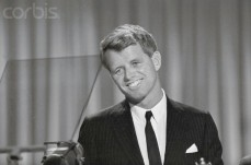 Robert F. Kennedy Smiling at Democratic National Convention