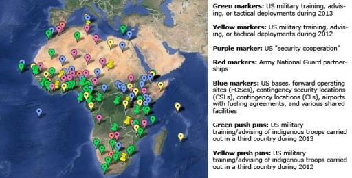 AfricaMilitaryMapLegend630