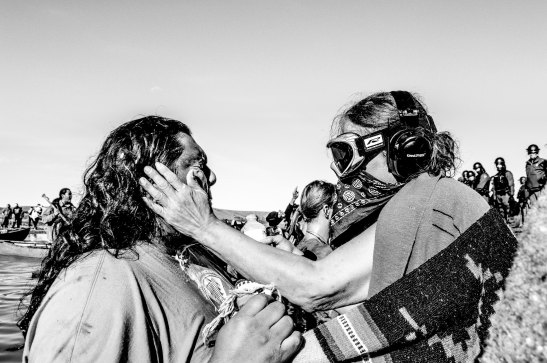 Riot Police Injure Over 100 People Defending Standing Rock Burial Grounds