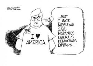 political-cartoon-on-newt-racism-i-love-america-but-hate
